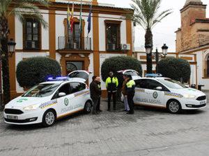 Nuevos coches de la policía local de Gines